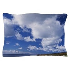 a small community on the Port au Port  Pillow Case