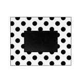 Black and white polka dot Picture Frames