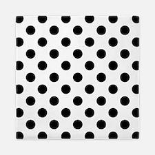 Black and White Polka Dots Queen Duvet