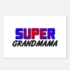SUPER GRANDMAMA Postcards (Package of 8)
