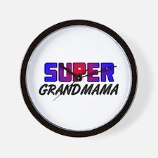 SUPER GRANDMAMA Wall Clock