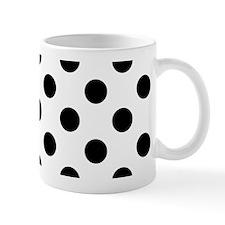 Black and White Polka Dots Mugs