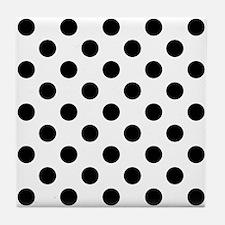 Cute Polka dot Tile Coaster