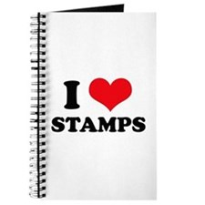 I Love (Heart) Stamps Journal