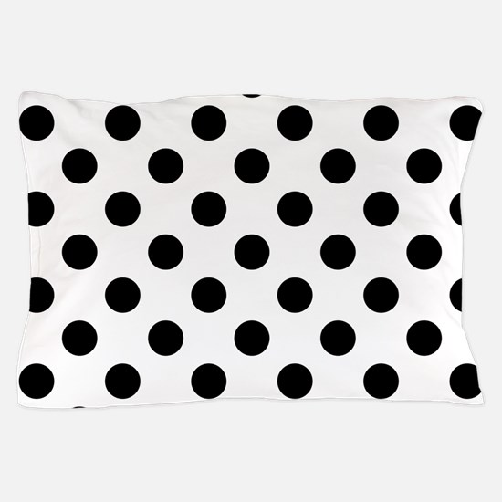 Cute Black and white polka dot Pillow Case
