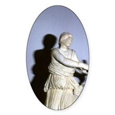 Artemis with bow. Classical Greek s Decal