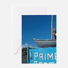 Twillingate. Prime Berth historic fi Greeting Card