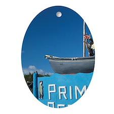 Twillingate. Prime Berth historic fi Oval Ornament