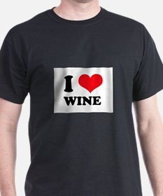 I Love (Heart) Wine T-Shirt