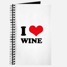 I Love (Heart) Wine Journal