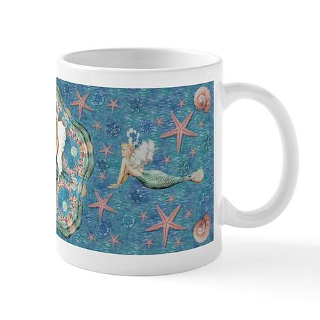 Sand Dollar Angel Mug