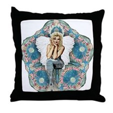 Sand Dollar Angel Throw Pillow