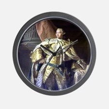 William III of Orange ENGLAND. Wall Clock