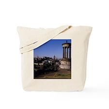 Edinburgh. The circular Greek temple on C Tote Bag