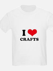 I Love (Heart) Crafts T-Shirt