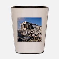 The Acropolis. Athens. Greece. Shot Glass