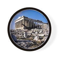 The Acropolis. Athens. Greece. Wall Clock