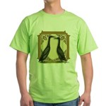 Black Runner Pair Green T-Shirt