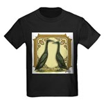 Black Runner Pair Kids Dark T-Shirt