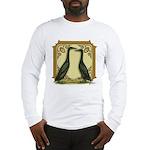 Black Runner Pair Long Sleeve T-Shirt