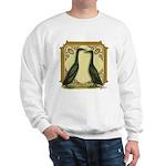 Black Runner Pair Sweatshirt