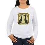 Black Runner Pair Women's Long Sleeve T-Shirt