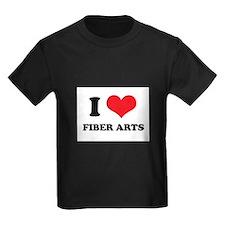 I Love (Heart) Fiber Arts T