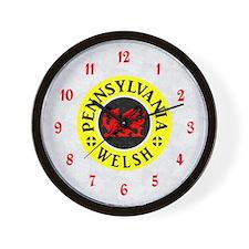 Pennsylvania Welsh American Wall Clock