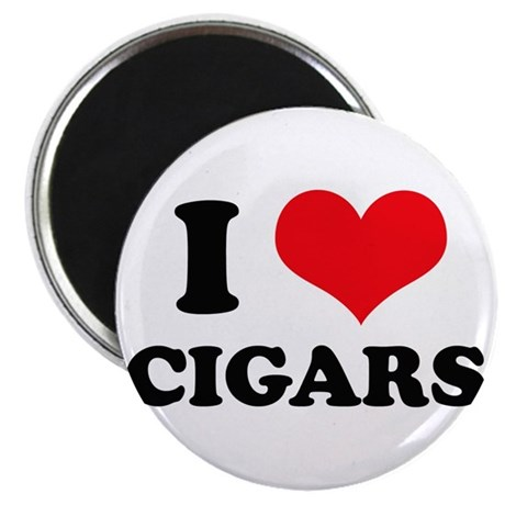 I Love (Heart) Cigars Magnet