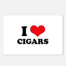 I Love (Heart) Cigars Postcards (Package of 8)