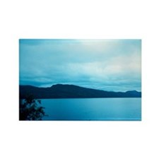 Loch Ness, Scotland. Rectangle Magnet