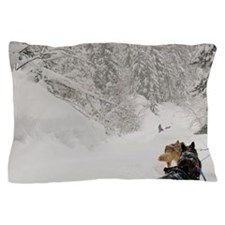 Tourists can mush their own sled/teamr Pillow Case