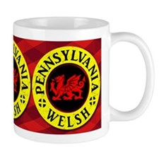 Pennsylvania Welsh American Mugs