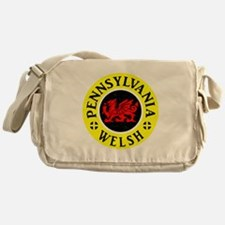 Pennsylvania Welsh American Messenger Bag