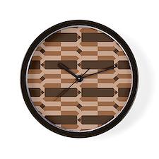 Cute Basket weaving Wall Clock