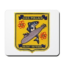 USS POLLACK Mousepad