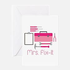 Mrs. Fix -it Greeting Cards