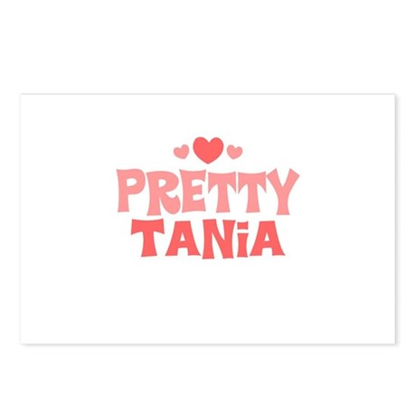 Tania Postcards (Package of 8)