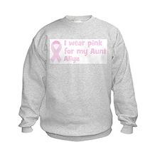 Aunt Aliya (wear pink) Jumpers