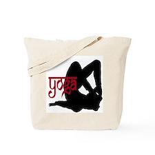Yoga Locust Pose Tote Bag