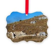 Byllis Ruins. Illyrian City Theat Ornament