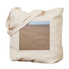 Arromanches Beach. Remembrance crosses pl Tote Bag