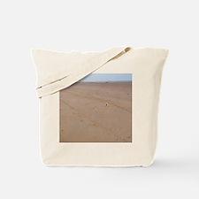 Arromanches Beach. Remembrance crosses pl Tote Bag