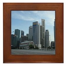 Singapore Central Business District Framed Tile