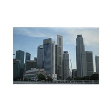 Singapore Central Business District Rectangle Magn