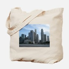 Singapore Central Business District Tote Bag
