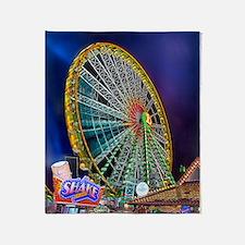 The Ferris Wheel Throw Blanket