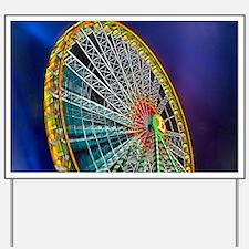 The Ferris Wheel Yard Sign