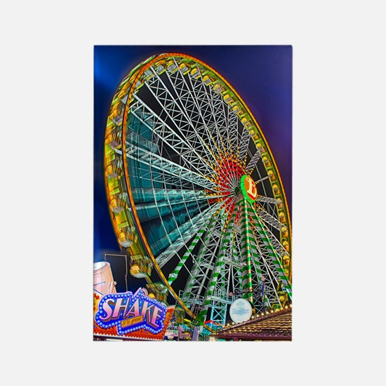 The Ferris Wheel Rectangle Magnet (100 pack)