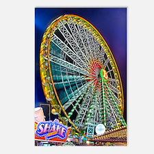 The Ferris Wheel Postcards (Package of 8)